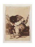 Chained Prisoner, Seated Posters by Francisco de Goya
