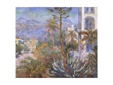 Villas at Bordighera Prints by Claude Monet