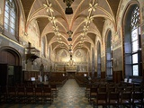 Gothic Hall of Bruges City Hall, Interior, Wooden Dome Photo
