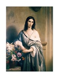 Melancholic Thoughts Prints by Francesco Hayez