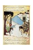 Muhammad and the Meccans at Medina Prints