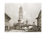 San Pablo Church, Zaragoza Posters by Jenaro Perez Villaamil