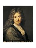 Nicola Boileau, French Poet (1631-1711) Prints by Jean-Baptiste Santerre