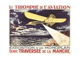 Triumph of Aviation Prints by Louis Galice