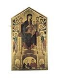 Madonna Di Santa Trinita Print by Cenni di Pepi Cimabue