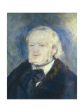 Richard Wagner Print by Pierre-Auguste Renoir
