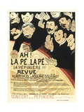 Poster for a Musical Revue by Albert Pajol and Adolphe Couturet Giclee Print by Félix Vallotton