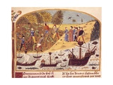 The Fleet of Alexander Prints by Rufus Quintus Curtius
