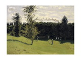 The Train in the Country Prints by Claude Monet
