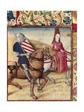 Tristan and Iseult Prints by Everard de Espinques