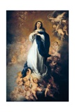 Immaculate Conception of Soult Prints by Bartolome Esteban Murillo