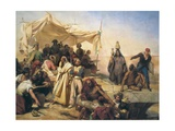 Expedition to Egypt under Orders of Napoleon Bonaparte Prints by Leon Cogniet