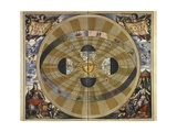 Copernicus' Heliocentric System Posters by Andreas Cellarius