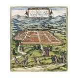 View of Cuzco Giclee Print by Abraham Ortelius
