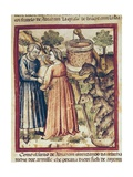 Rebeca Offers Well Water to Eliecer, Head of the Servants of Abraham Prints