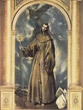 Saint Bernardine Prints by  El Greco