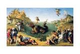 Perseus Frees Andromeda Prints by Piero di Cosimo