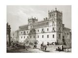 Palace of Monterrey in Salamanca Prints by Jenaro Perez Villaamil