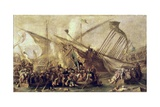 Battle Scene Prints by Cornelis De Wael