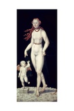 Venus and Cupid Prints by Lucas Cranach the Younger