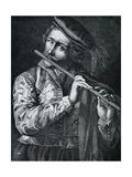 Flautist Posters by Lucas Vorsterman