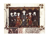 Philip IV the Fair, of France (1268-1314) and His Family Posters