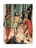 Piskning af Kristus Plakater af Fernando Gallego