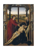 Altarpiece of the Virgin Giclée-Druck von Rogier van der Weyden