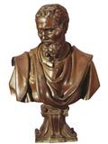 Bust of Michelangelo (1475-1564) Kunstdrucke von Daniele Da Volterra