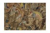Battle of Zama (Detail), Second Punic War, 202 Bc Prints
