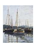 Pleasure Boats, Argenteuil Posters por Claude Monet
