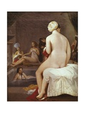 The Little Bather in the Harem Art by Jean-Auguste-Dominique Ingres