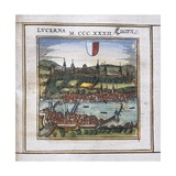 View of Lucerne Giclee Print by Abraham Ortelius