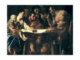 Satyr at the Peasant's House Giclee Print by Jacob Jordaens