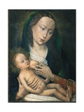 Madonna mit dem Kinde Giclée-Druck von Rogier van der Weyden