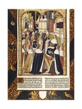 Coronation of Ramhilde, Duchess of Bavaria Art