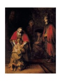 Return of the Prodigal Son Giclee Print by  Rembrandt van Rijn