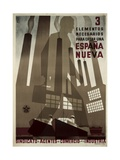 Republican Spanish Civil War Poster Poster by  Pedrero