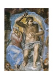 The Last Judgment Giclee Print by  Michelangelo Buonarroti