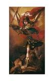 Saint Michael the Archangel Kunstdrucke von Juan de Valdes Leal