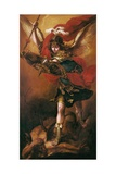 Saint Michael the Archangel Giclee Print by Juan de Valdes Leal