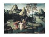 Baptism of Jesus Posters af Gillis Mostaert