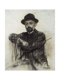 Portrait of Unamuno Posters by Ramon Casas i Carbo