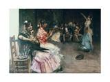 Gypsy Dance Posters by Gonzalo Bilbao Y Martinez