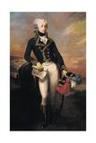 Gilbert Motier, the Marquis De La Fayette as a Lieut Prints by Joseph Desire Court