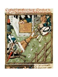 Torture of Brunhilda by Chlothar II Prints