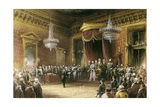 Victor Emmanuel II at Italian Unification with Annexation of Emilia, 1860 Giclee Print by Carlo Bossoli