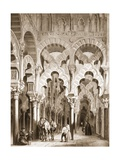 Mozarabic Chapel of the Mosque of Cordoba Giclee Print by Jenaro Perez Villaamil