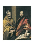 Saints Peter and Paul Art by  El Greco
