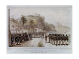 Troops in Prahia Grande for the 1811-14 Expedition Against Montevideo Giclee Print by Jean Baptiste Debret